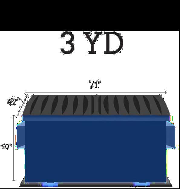 Image of dumpster: 3YD Front Load