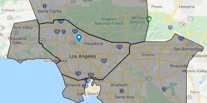service areas Los Angeles
